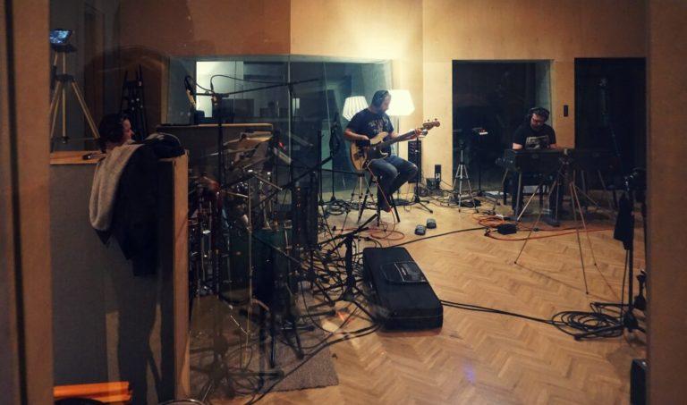 Natamaran w studio – Pierwsza płyta długogrająca w produkcji !